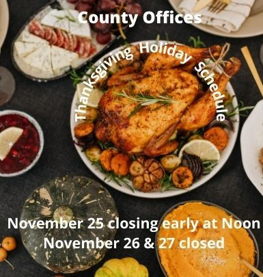 Thanksgiving Holiday Schedule 2020